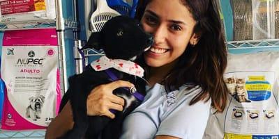 adoptar un perro negro