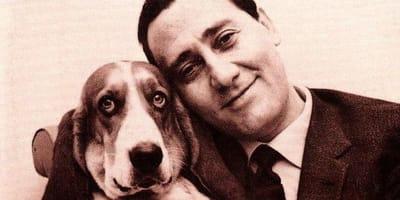 Alberto Sordi con il cane