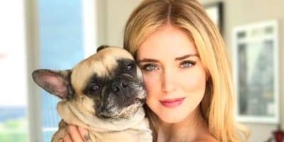 Chiara Ferragni e il suo cane