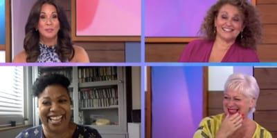 collage of four women on Loose Women show