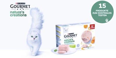 Purina Gourmet Nature's Creation Produkttest