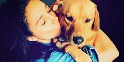 Meghan Markle ze swoim psem