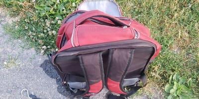 Bag found floating on surface of lake hid a shocking secret