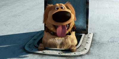 Screenshot of Dug from the movie Up