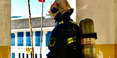 bombero uniforme