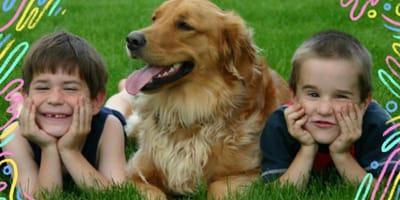 cane e bimbi