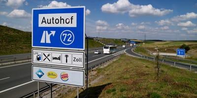 cartello autostradale tedesco