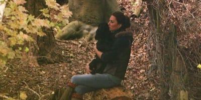 Cane e Kate Middleton