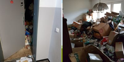 hoarder apartment