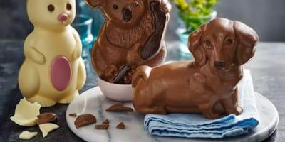 Der Mega-Renner: Tierfiguren aus Schokolade.