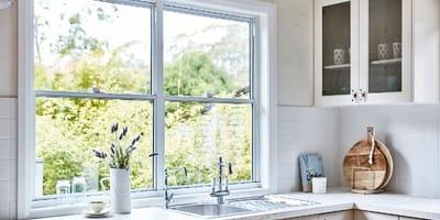 Okno z kuchni
