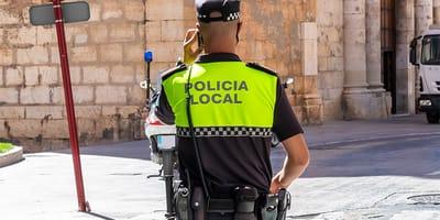 La Polizia si scontra con una triste realtà in un quartiere di Malaga