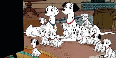 Los nombres de los perros de 101 dálmatas