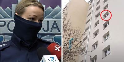 Nach Vorfall im 9. Stock: Polnische Polizei unter Schock
