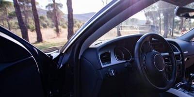 Zostawiła na chwilę otwarte drzwi auta. Kiedy wróciła, z tylnego siedzenia wpatrywało się w nią dwoje oczu...