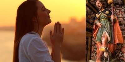Oración a San Roque para sanar a un perro