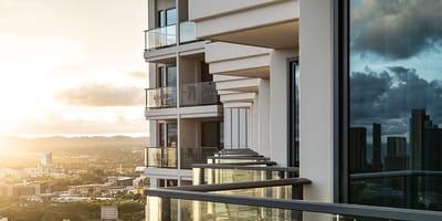 balcon edificio
