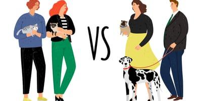 Koty vs psy: w których krajach przeważają kociarze, a w których – miłośnicy psów?