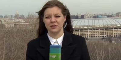 WATCH: Live TV news report dramatically interrupted by microphone thief