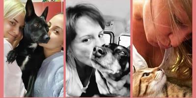 I baci più belli dei nostri lettori con i loro cani e gatti! (Foto)