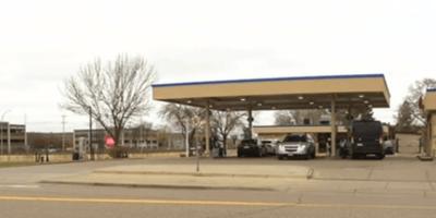 gato perdido gasolinera