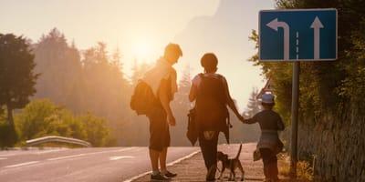Familia sale a pasear con su perro y de repente ocurre lo más horrible e inesperado
