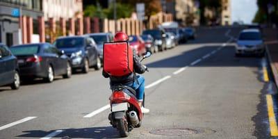 Delivery en moto