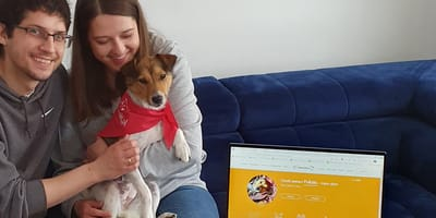 Najszczęśliwszy pies na świecie numer 4000 - poznajcie Lusię!