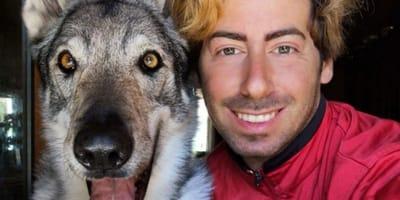 Vi presentiamo Balto, un cane lupo molto speciale