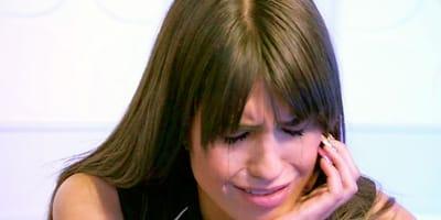 Sofía Suescun llorando
