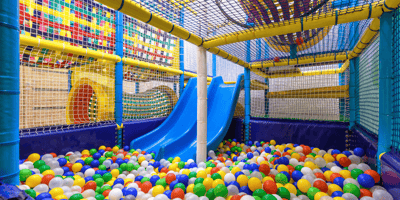 Soft play cafe comes up with perfect plan to keep kids and dogs together