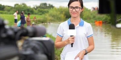 reporterka telewizja
