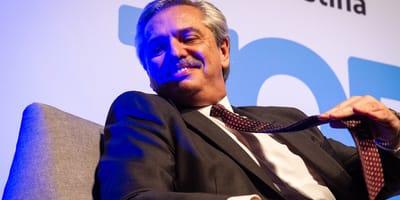 Blue es el nuevo perro del presidente argentino Alberto Fernández
