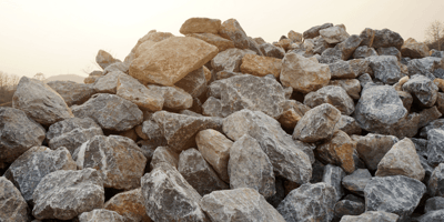 Walker hears whining near pile of rocks: She takes a look and her heart breaks
