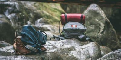 Plecaki w gorach