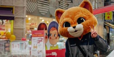 człowiek kot w Korei