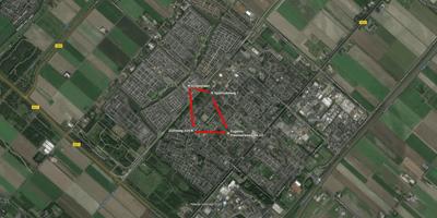 Kaart van Nieuw-Vennep
