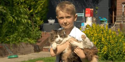 Familie verbrennt tote Katze und schießt einen Riesenbock ab!