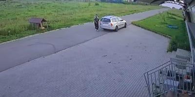 Auf frischer Tat ertappt: Polizei ermittelt nach gewissenloser Tat