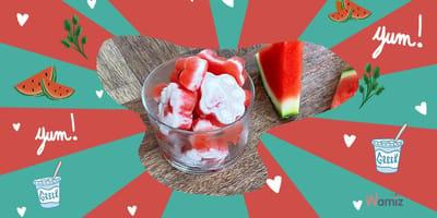 Ghiaccioli per cani all'anguria e yogurt (Video ricetta)