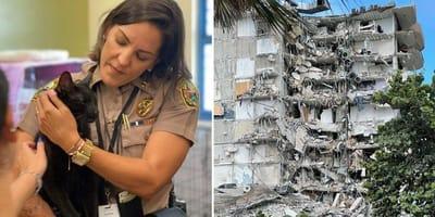 Miami flat-ramp: kat die op de 9de verdieping woonde, levend onder puin gevonden