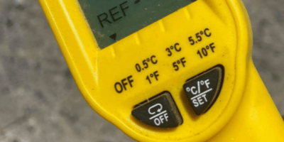 Vet shares shocking photo of ground temperature as warning to pet owners