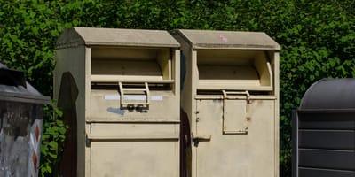 Thüringen: Schlimmer Verdacht nach Fund in Altkleider-Container