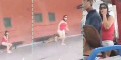 Se sube corriendo al tren, su perro se queda en el andén: el mundo se indigna