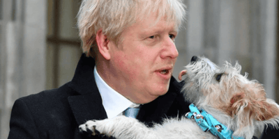 Boris Johnson reveals he's often worried about his dog's behaviour