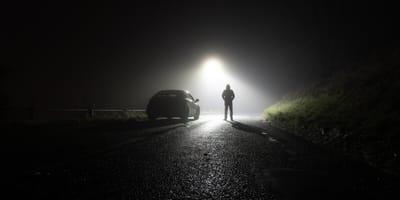Am Straßenrand in Rumänien: Autofahrerin zittert, versteht und schaut nach dem Rechten