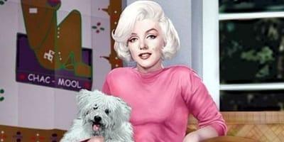 Anniversario della morte di Marilyn Monroe: l'amore per gli animali (Foto)