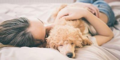 Dormir con tu mascota: ventajas, desventajas, riesgos y enfermedades