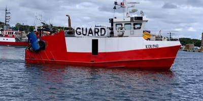 Rybacy z Kołobrzegu wypływają w morze. Okazuje się, że na pokładzie jest ktoś jeszcze