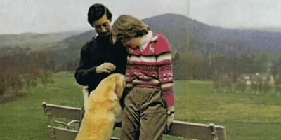 Iconic Balmoral photos hide sad truth about Diana, Charles, and Harvey the dog